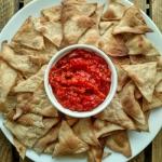 Nachos z salsa pomidorowo...