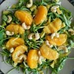 Sałatka z pomarańczą...