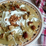 Krem z selera i gruszek