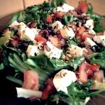Lekka salatka z mozzarell...