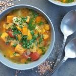 Orientalna zupa dyniowa...