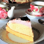 Tort serowo - biszkoptowy...