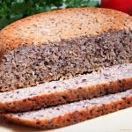 Chleb gryczany z siemieni...