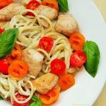 Spaghetti w sosie gorgonz...