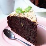Ciasto czekoladowe z cuki...