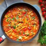 Pomidorowe curry z...