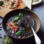 Czarna zupa z Kostaryki