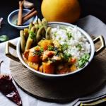 Dyniowe curry z kurczakie...