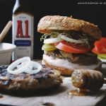 Przepyszne burgery BBQ z...
