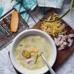 Duńska zupa z porów