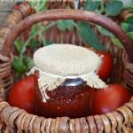 Konfitura z pomidorów z...