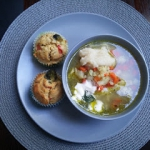 Kalafiorowa z muffinami