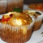 Muffiny z papryka, serem ...