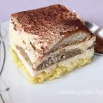 Ciasto kawowo-biszkoptowe...