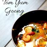 Tajska zupa Tom Yum Goong