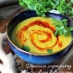 Dyniowa zupa curry z mlec...