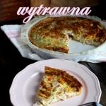 Tarta z serem i szynką