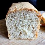 Chleb jasny mieszany z...
