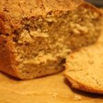 Chleb z mąki orkiszowej...