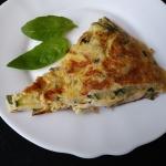 Omlet na zielono