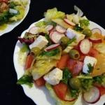 Salatka z mozzarella, rzo...