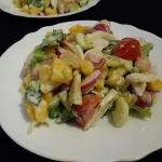 Salatka z biala fasola, r...