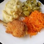 Kurczak z rosolu panierow...