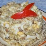 Pasta z makreli i ogorkie...