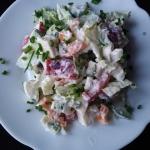 Kolorowa salatkaaa z papr...