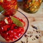 Marynowana papryka chili