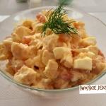 Salatka z kalafiorem  -...