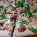 Pizza Bianca z bialym sos...