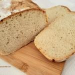 Biały chleb na zakwasie...