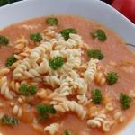 Gęsta zupa pomidorowa...