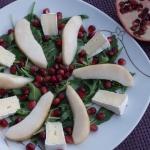 Salatka z gruszka i grana...