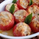 Zapiekane pomidory...