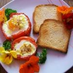 Jajka zapiekane w...