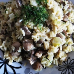 Risotto parboiled z piecz...