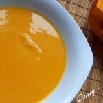Zupa dyniowa z soczewica