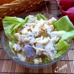 Salatka sledziowa z ryzem...