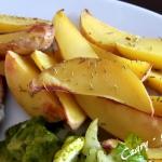 Ziemniaki pieczone z ziol...