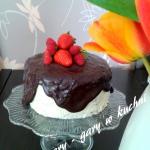 Tort czekoladowo - kokoso...