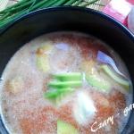 Zupa pomidorowa z awokado...