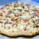 Chlebek czosnkowy - pizza...