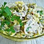 Pieczarkowa salatka