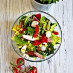 Salatka na kolorowo