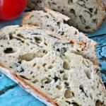 Chleb ze szpinakiem i pok...