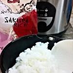 Ryz do sushi i test garnk...