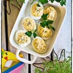 Jajka faszerowane serem...