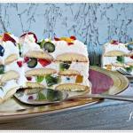 Tort owocowy bez pieczeni...